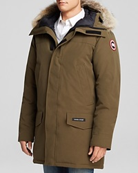 Canada Goose Langford Parka With Fur Hood Military Green