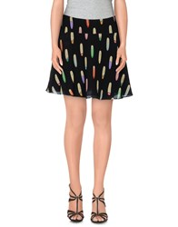 Mauro Grifoni Skirts Mini Skirts Women Black