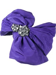 Moschino Wrap Bow Blouse Pink And Purple