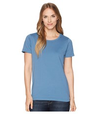 Filson Whidbey Scoop Neck T Shirt Blue Sea Clothing