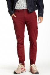 The New Standard Edition Saul Slim Cargo Jogger Red