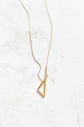 Urban Renewal Mau 4 Point Necklace Gold