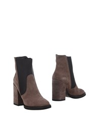 Manufacture D'essai Ankle Boots Light Brown