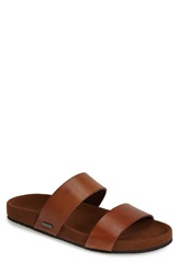 Ted Baker 'Magnuss' Leather Slide Sandal Men Tan