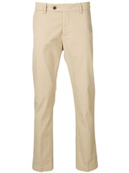Al Duca D'aosta 1902 Straight Leg Trousers Neutrals