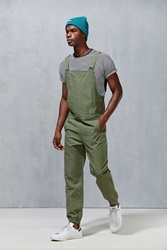 Shades Of Grey By Micah Cohen Canvas Overall Jogger Olive