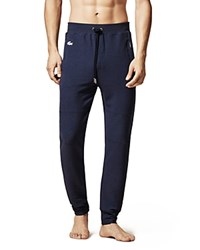 Lacoste Knit Lounge Pants Navy