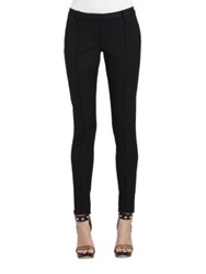 Jason Wu Bi Stretch Gabardine Stovepipe Pants Black