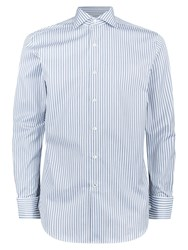 Aquascutum London Alwin Stripe Shirt Green
