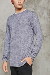 Forever 21 Marled Cotton Sweater