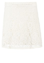 Only Onllace Mini Skirt Pumice Stone Grey
