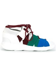 Christopher Kane Panelled Sneakers White