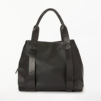 John Lewis Kin By Erika Three Section Tote Bag Black