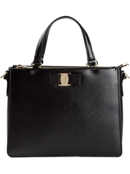 Salvatore Ferragamo 'Tracy' Satchel Black