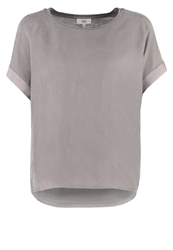 Noa Noa Basic Tshirt Frost Grey Anthracite