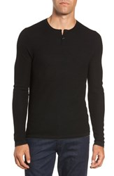 Zachary Prell Hawthorn Wool Blend Thermal Black