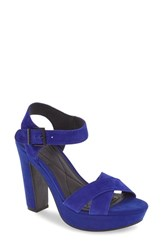 Kenneth Cole Reaction Women's 'I Can Change' Platform Sandal Cobalt