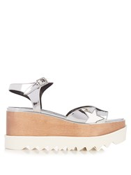 Stella Mccartney Elyse Platform Sandals Silver