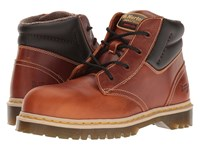 Dr. Martens Work Icon 7B09 Tan Industrial Waxy Men's Boots Brown