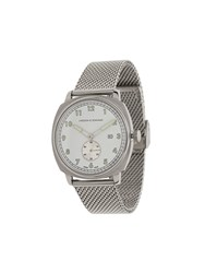 Larsson And Jennings Meridian Brushed Watch Silver