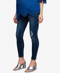A Pea In The Pod Maternity Skinny Jeans Medium Wash
