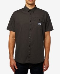 Fox Men's Brigs Woven Shirt Black Vintage