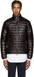 Burberry Black Lightweight Quilted Down Jacket