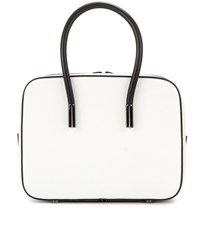 Tom Ford Ava Small Leather Tote White