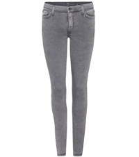7 For All Mankind The Skinny Jeans Grey