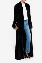 Galvan Soft Velvet Coat Black