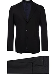 Tonello Fitted Dinner Suit Black