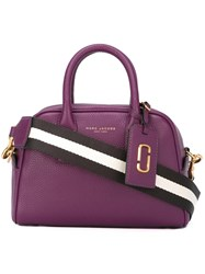 Marc Jacobs Small 'Gotham' Bauletto Tote Pink Purple