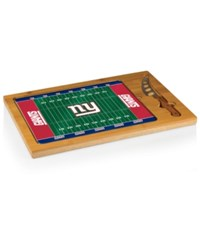 Picnic Time New York Giants Icon Cutting Board Burlywood