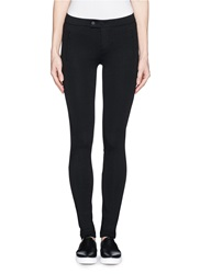 Vince 'Ponte' Stretch Knit Skinny Pants Black