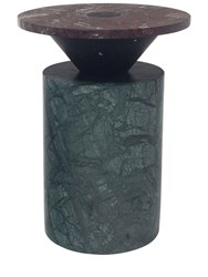 Mmairo Totem Marble Coffee Table Green Black