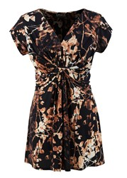 Grace Made In Britain Print Tunic Gold