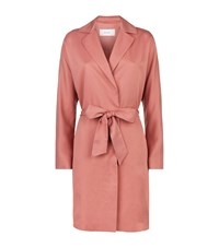 Reiss Manhattan Fluid Trench Coat Female Pink