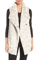 Dylan Women's Faux Fur Vest Winter White