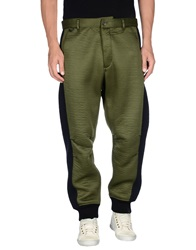 Y 3 Casual Pants Military Green