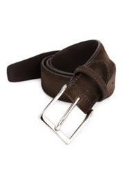 Canali Faded Suede Belt