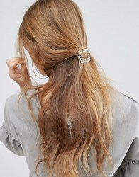 Asos Limited Edition Chain Buckle Hair Clip Gold