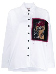 Antonio Marras Loose Fit Patched Shirt 60