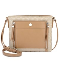 Nine West Neala Crossbody Sandstone Dark Camel