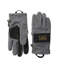 Burton Ember Fleece Glove Faded Heather Extreme Cold Weather Gloves Blue