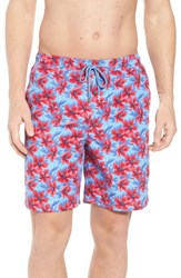 Peter Millar Spanish Flowers Swim Trunks Ceramic