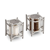 L'objet Han Salt And Pepper Set Of 2 Platinum