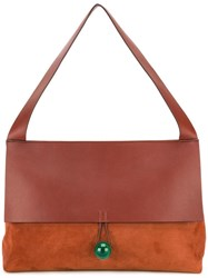 Corto Moltedo 'Rose' Shoulder Bag Brown