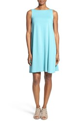 Eileen Fisher Women's Lightweight Jersey Shift Dress Scarab