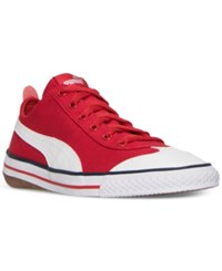 Puma Men's 917 Fun Casual Sneakers From Finish Line High Risk Red White