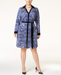 Inc International Concepts Plus Size Printed Shirtdress Only At Macy's Glam Paisley